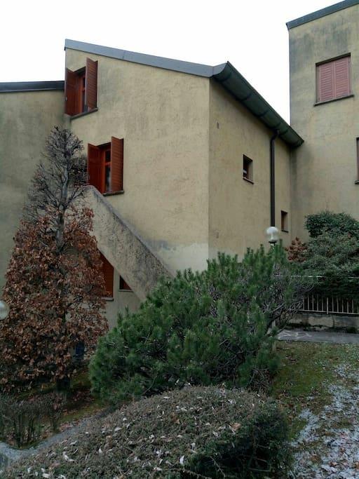 ingresso della casa / entrance