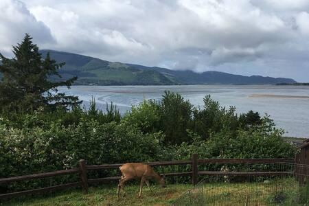 Ocean Bay View - Netarts Cliff Side Home