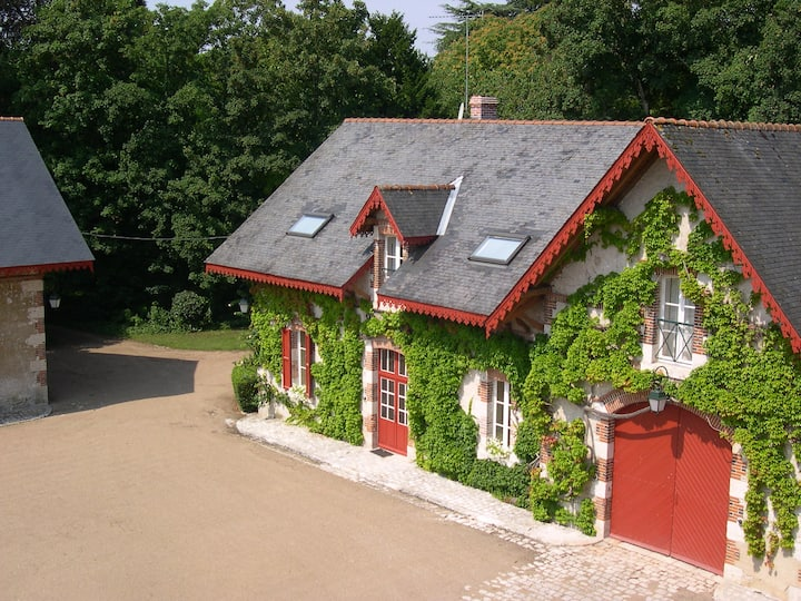 Family property in Loire Valley