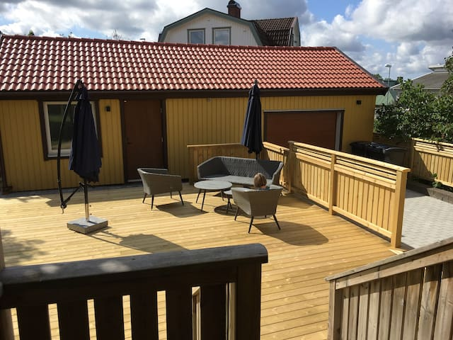 Cozy guesthouse in convenient Mölndal location