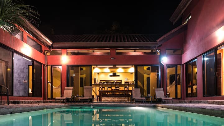 Entire Luxury Beach Villa with Salt Water Pool