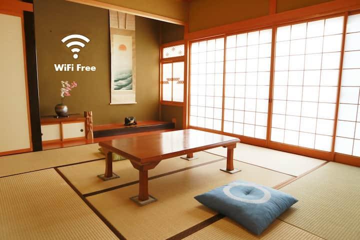 【こんなにほっこりできるなんて嘘みたい】富山駅近 一戸建庭付 駐車場有 3部屋・多人数対応・最高かよ