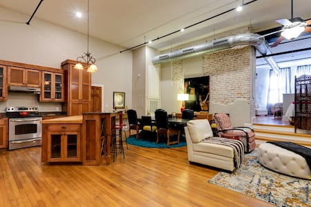 Historic & Hip Condo in Downtown Hattiesburg