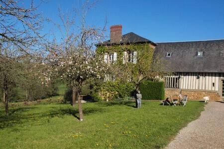 typisch Normandische ciderpressoir - Zomerhuis/Cottage