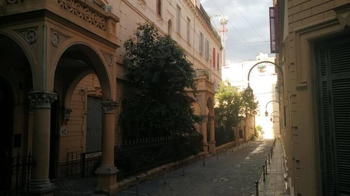 Habitación individual en el centro de la ciudad