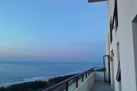 【庭美宜居·天空的院子】阿罗哈高层全海景复式四卧套房  全部卧室床上看海  阿罗哈商业区完善配套