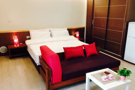 全新雙人房,乾淨衛生舒適的11坪大房間,距離新竹頭份交流道口,交通便利 - Xiangshan District