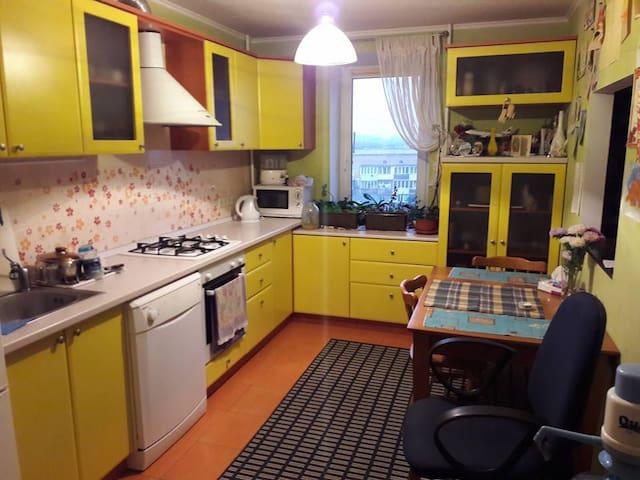 Комната в трехкомнатной квартире :) - Boryspil'