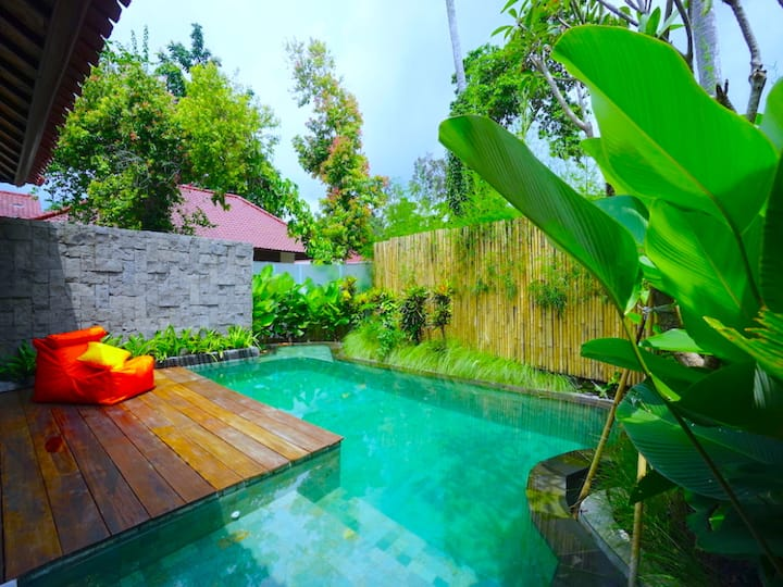 1BR Luxury Villa w/Private Pool in Central of Ubud