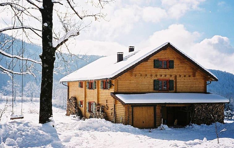 Chalet La Chèvrerie - Les Planches-en-Montagne - Alpehytte