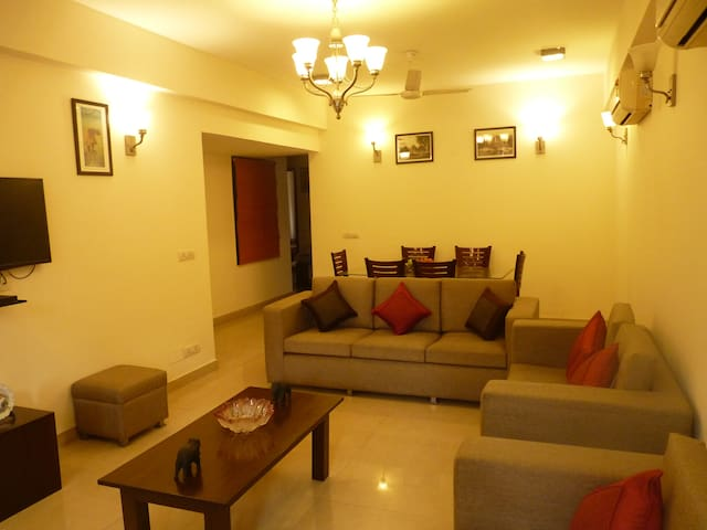 Defence Colony A Block First Floor Apartment