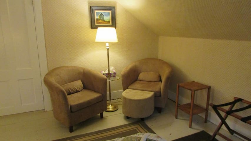Private in room seating area