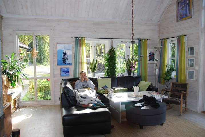 Idyllisk eiendom nær sentrum - Lillehammer - Dom