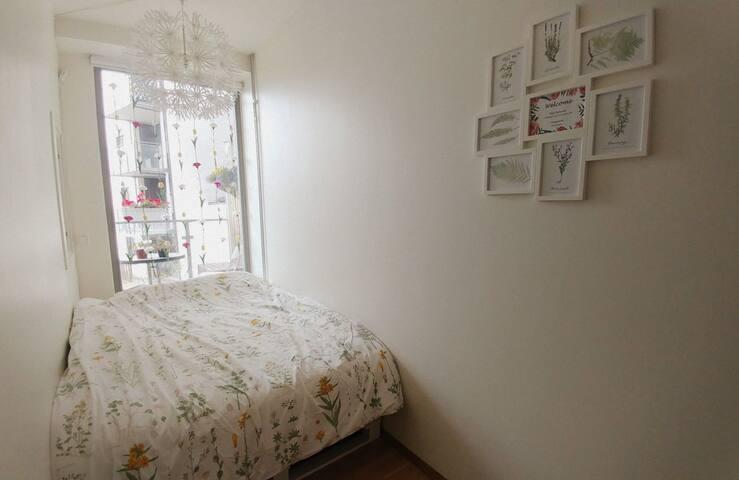 Cozy Scandinavian Bedroom
