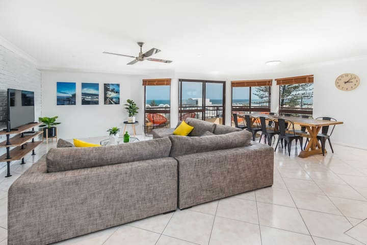 Stunning Ocean Views BEST location - Caloundra - Leilighet