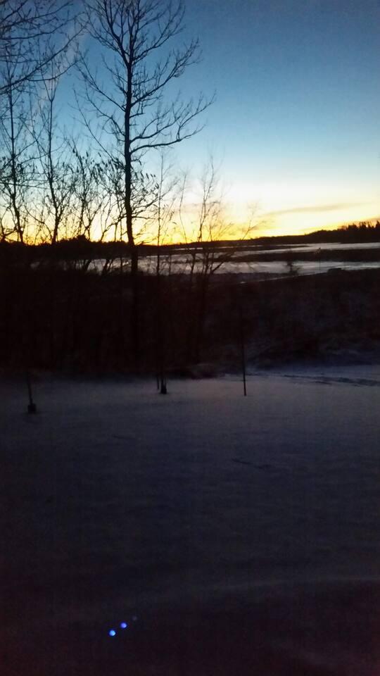 sunrise 2 from the 3 season porch