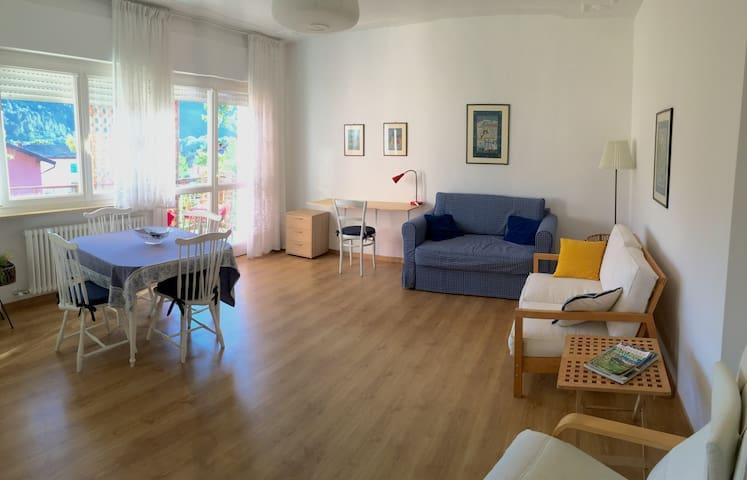 appartamento tranquillo e spazioso vicino al lago