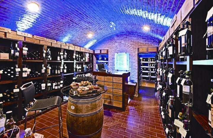 inside view of our wine shop