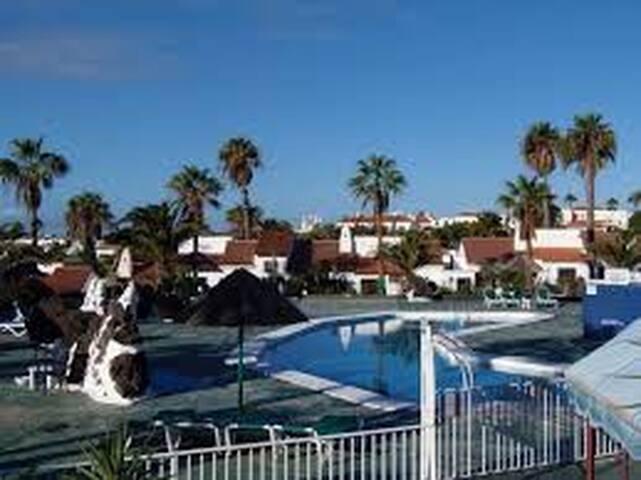 Golf del Sur - Studio with Private Terrace