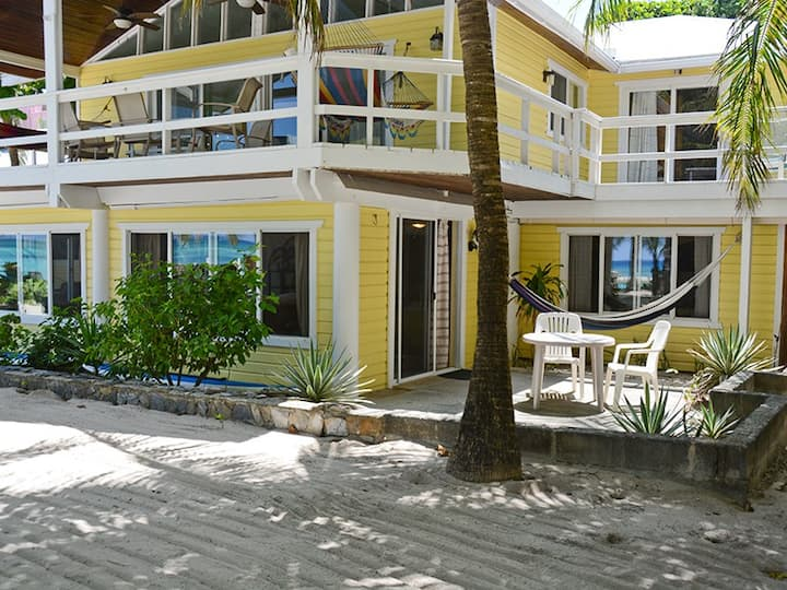 St. Mac`s Beachfront Apartment - West Bay Beach front, 20 steps to the water!