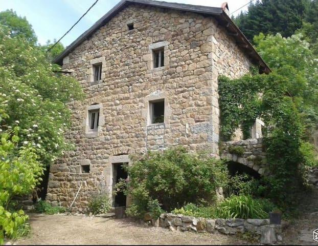 GITE FERME ARDECHOISE VALLEE de  l EYRIEUX - Saint-Martin-de-Valamas - บ้าน