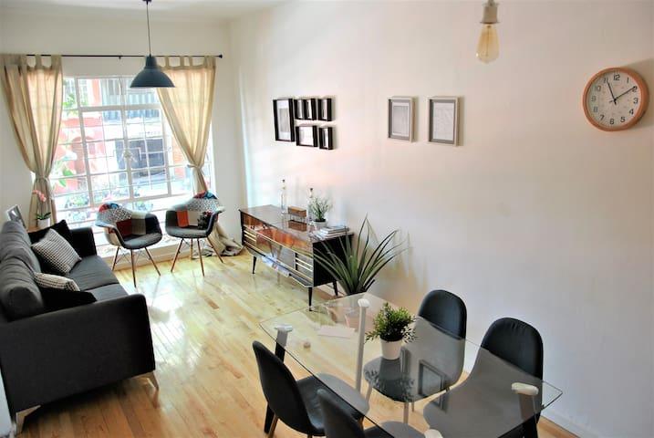 Cozy apt. in Juárez / Reforma next Roma / Condesa - Juárez - Apartamento