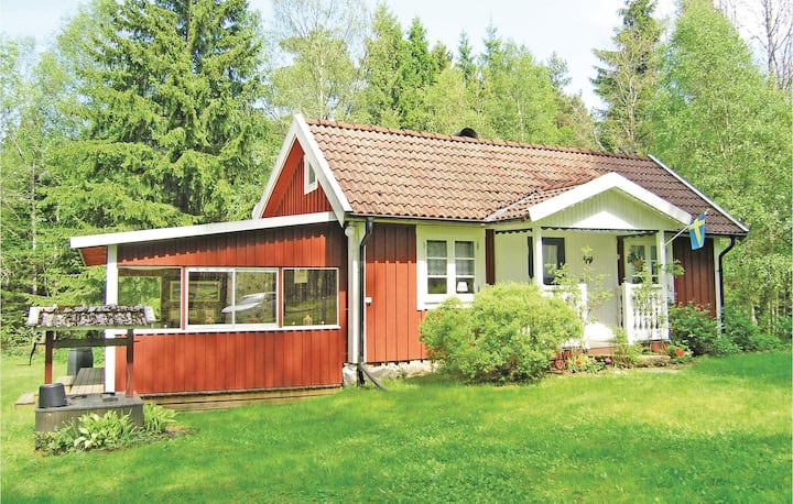 Nice home in Unnaryd with 1 Bedrooms