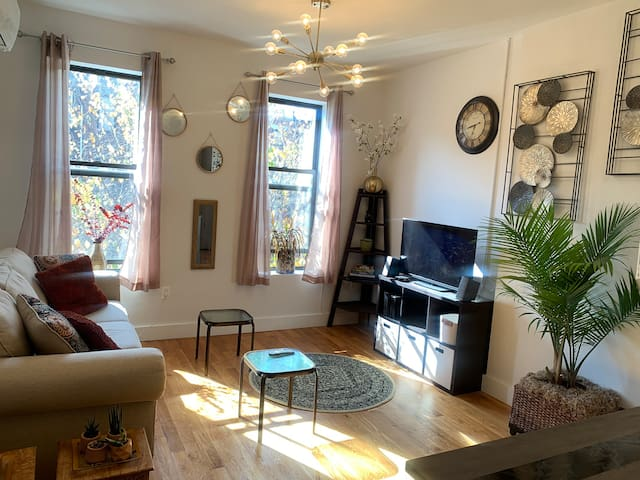Luxury Brownstone 1BR Apartment in Historic Harlem