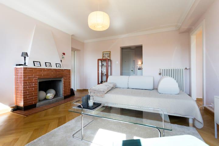 Charmant & grand appartement en plein ♡ Lausanne