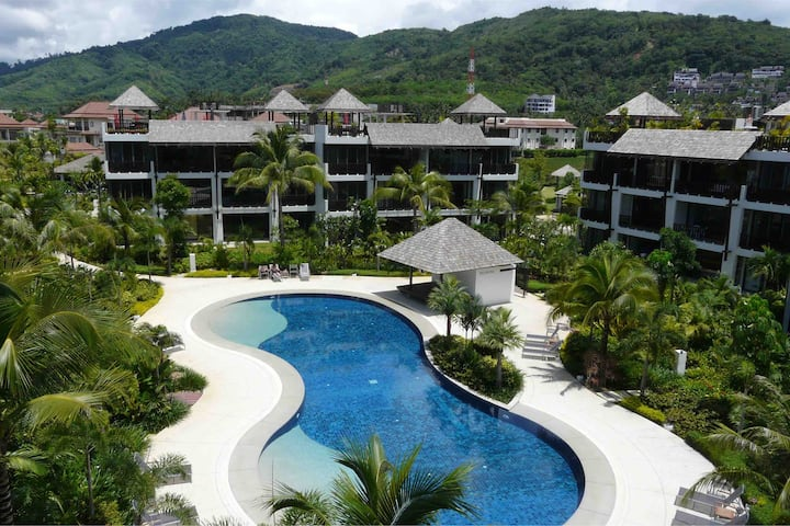 BangTao Beach 2Bed Rooms Apartment with Pool View