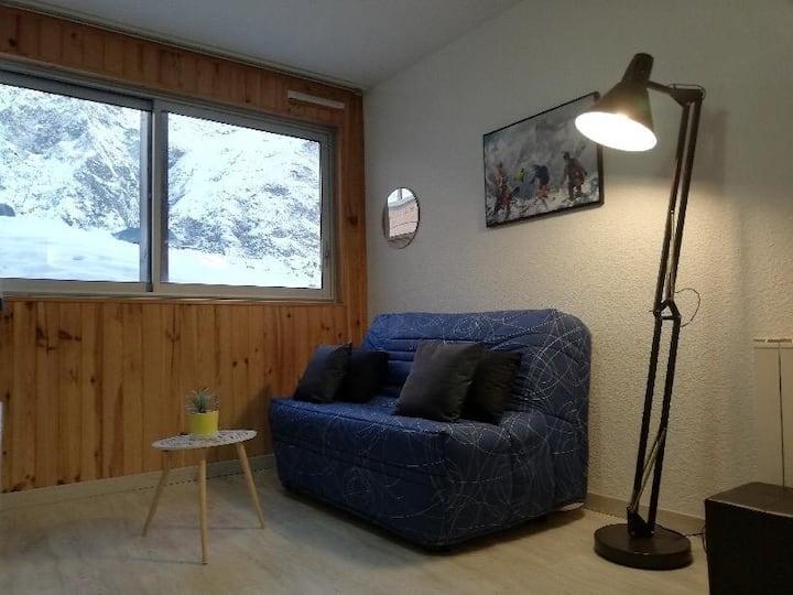 Au pied des pistes station ski Piau Egaly