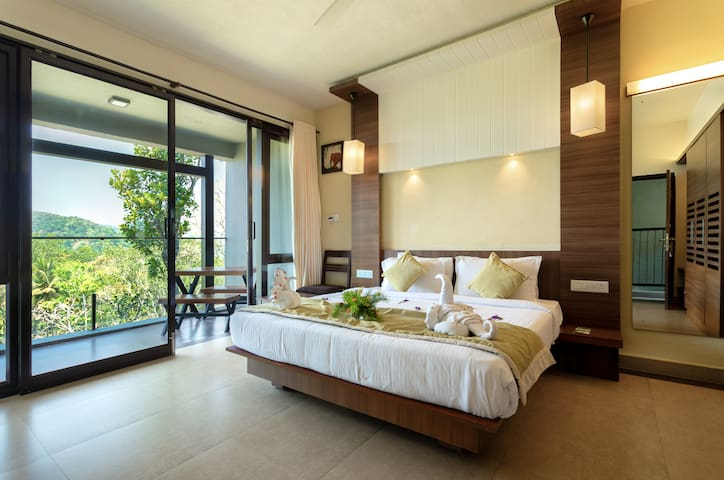 Tamarind Rooms set in the midst of the hills