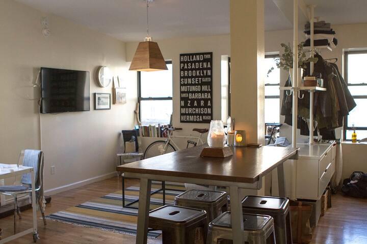 Mini-Loft in Heart of Williamsburg - Brooklyn - Apartament