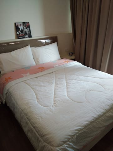 warm quilt cover & bed