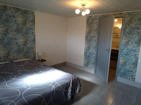 Chambre accueillante à Briord