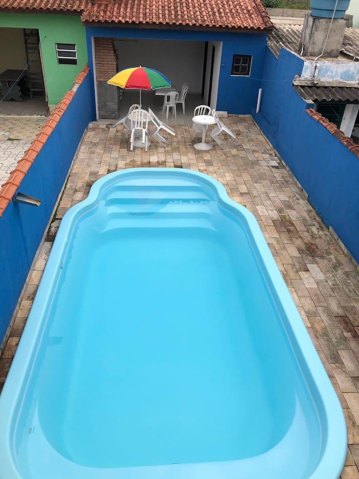 Casa com piscina Praia de Mongaguá