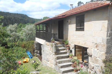casa em quinta organica na montanha