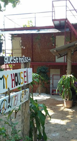 My house Mountain view room with share bathroom - ปาย - Hus