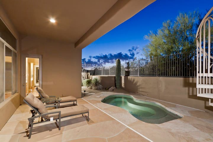 *SANITIZED* Desert Rose Golf Course Home/ 3 BR/ PVT Pool/ Troon/ Scottsdale