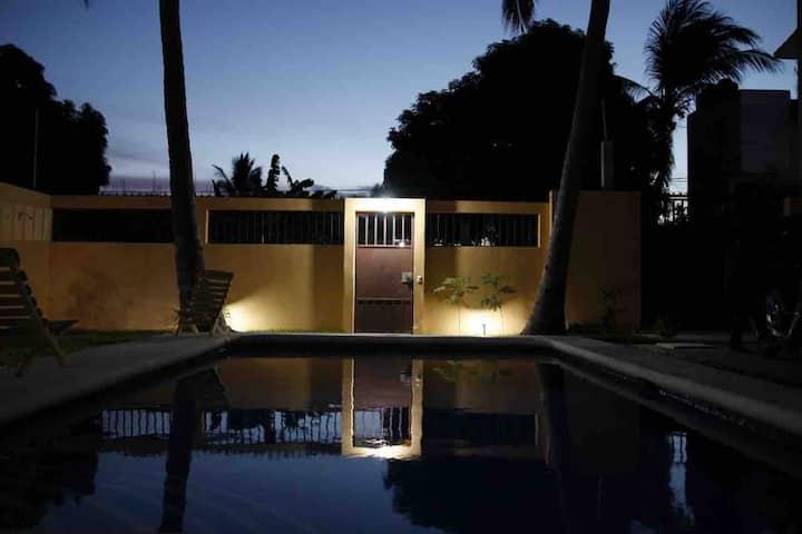La casa de los Abuelos #1:  two bedrooms two bath.