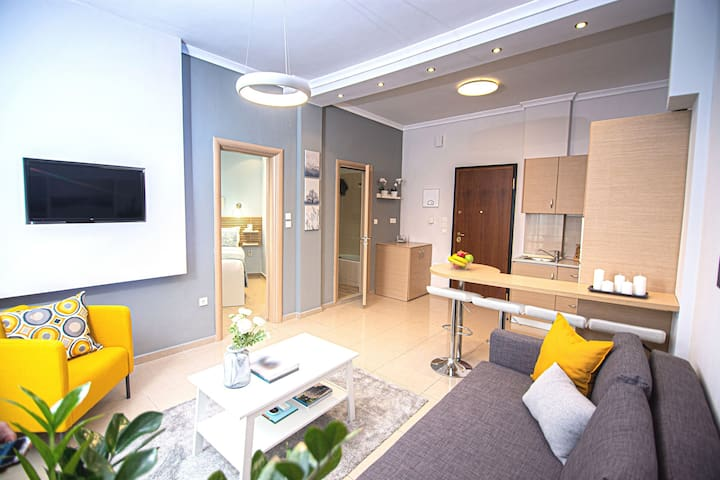 Modern and Central Kalliston Apartment #1