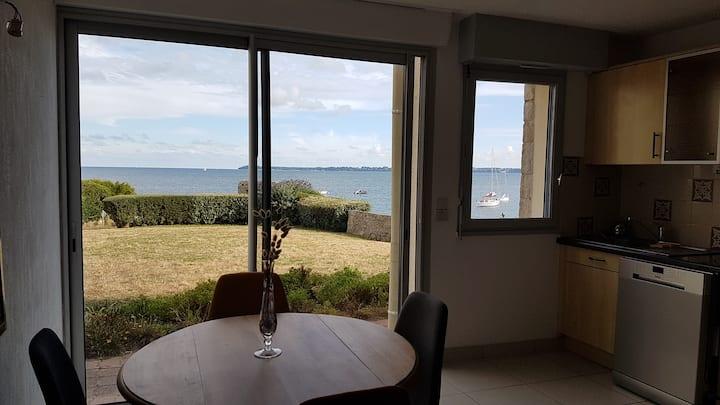 Bel appartement 4 personnes - vue mer + plage