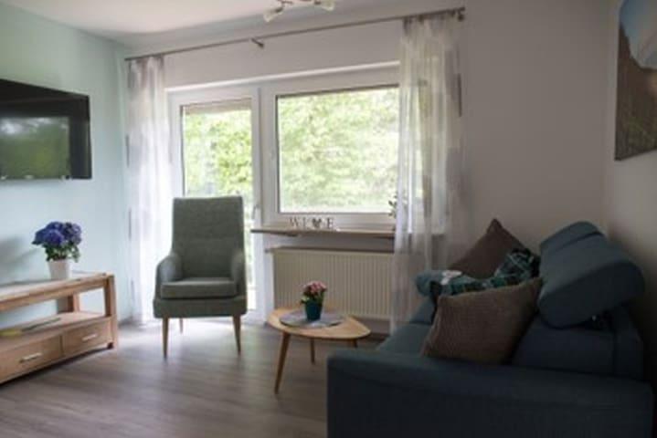 Winzerhof Düring, (Iphofen), Ferienwohnung 1 Bacchus, 65qm, 2 Schlafräume, max. 5 Personen