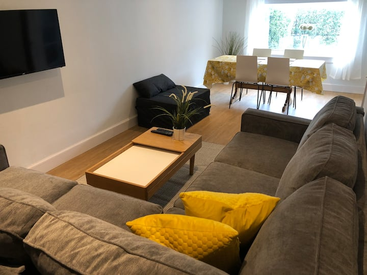 Modern, spacious accommodation. Free parking!