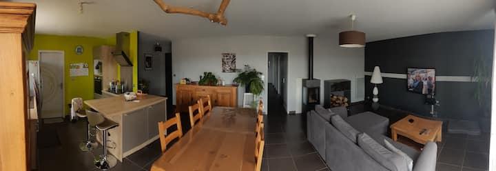 Chambre dans charmante maison individuelle