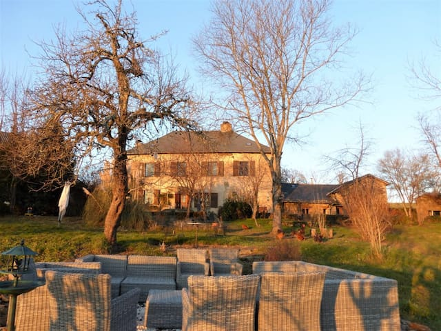 Huge house with garden for 15 ! - Saint-Hilaire-Peyroux