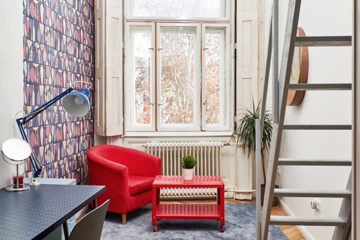 Swedish style room