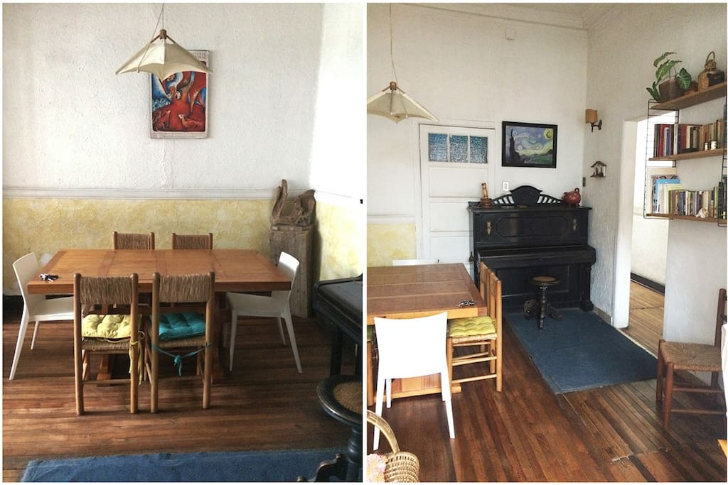 Dining room & Piano