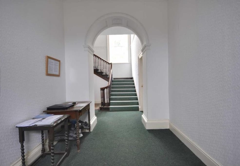Common entrance hall.