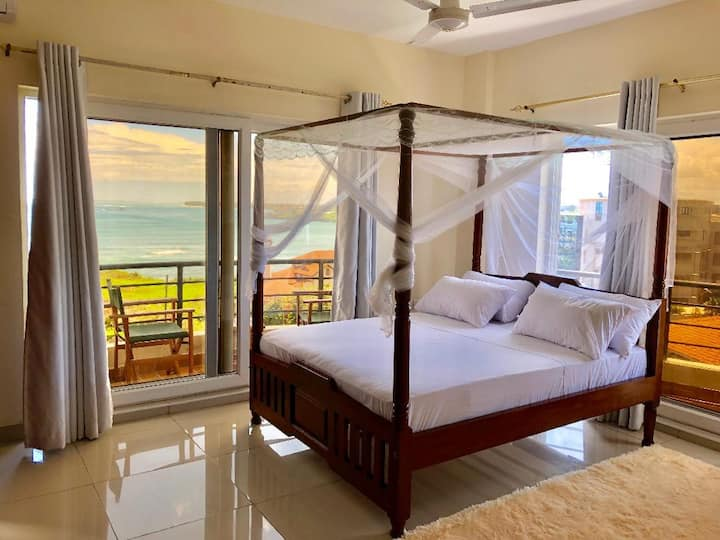 Beutiful sea front view room